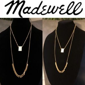 MADEWELL Gold Two-Piece Necklace Set